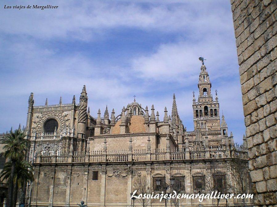Catedral y Giralda de Sevilla - Los viajes de margalliver.com